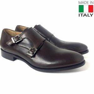 Gordon Rush Italy's Double Monk Slip On Loafers